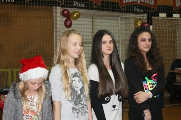 Ira, Sara, Marijeta, Mirna